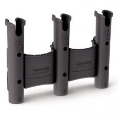 00401415 RAILBLAZA RODSTOW ROD HOLDER TRIPLE ZWART MET BAKJE