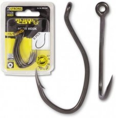 #6/0 Black Cat Mega Hook DG DG coating 6pcs