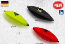 10g Black Cat Darter U-Float 8,0cm neon yellow
