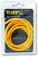 1,00m Black Cat Rig Tube yellow 1pcs Ø4mm,Ø8mm